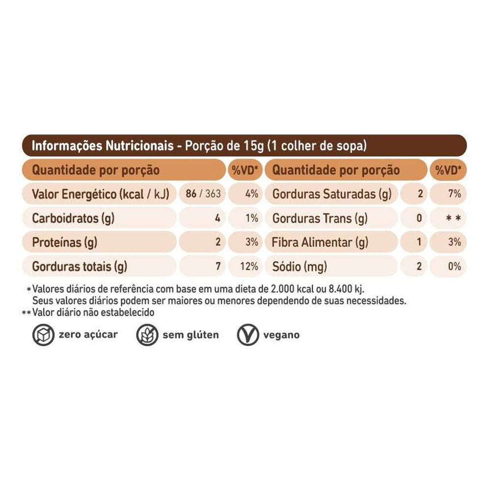 Pasta de Castanha de Caju com Choc Pedacinhos de Nibs 150g   - KFit Nutrition