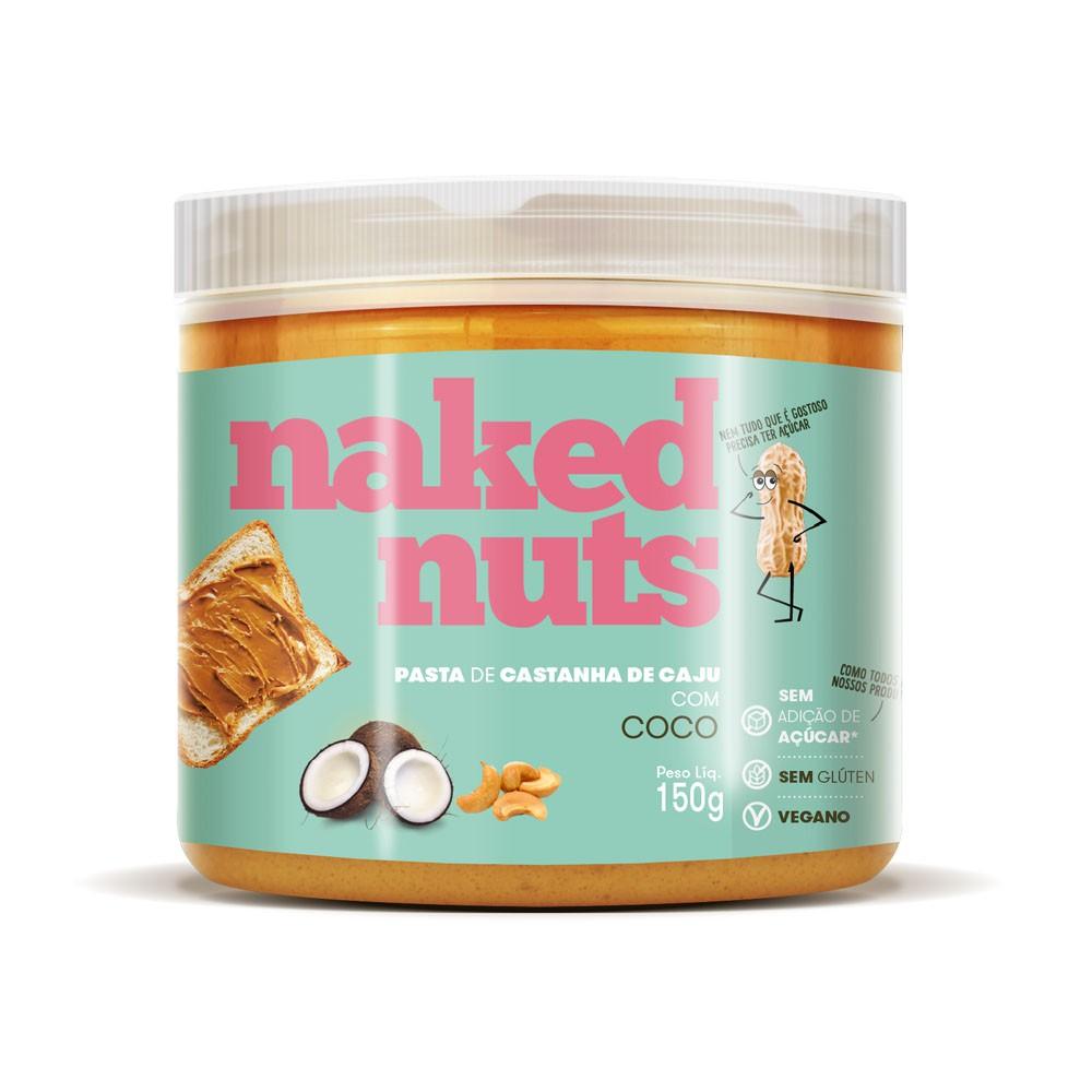 Pasta de Castanha de Caju com Coco 150g - Naked Nuts  - KFit Nutrition