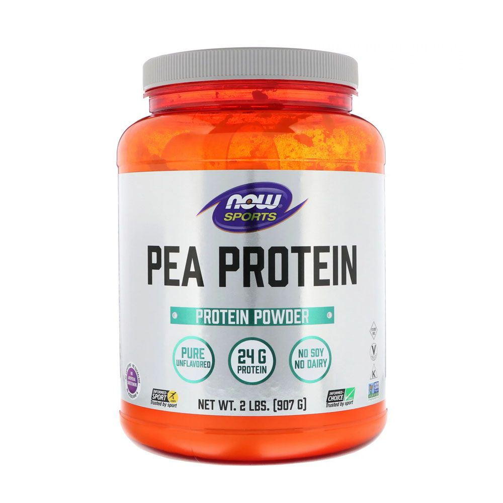 Pea Protein Creamy Vanilla 907g Now Sports  - KFit Nutrition