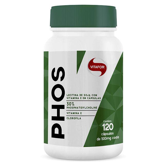 PHOS 120 capsulas Vitafor  - KFit Nutrition