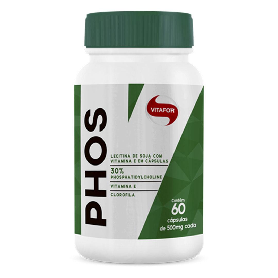 Phos 60 Caps Vitafor  - KFit Nutrition