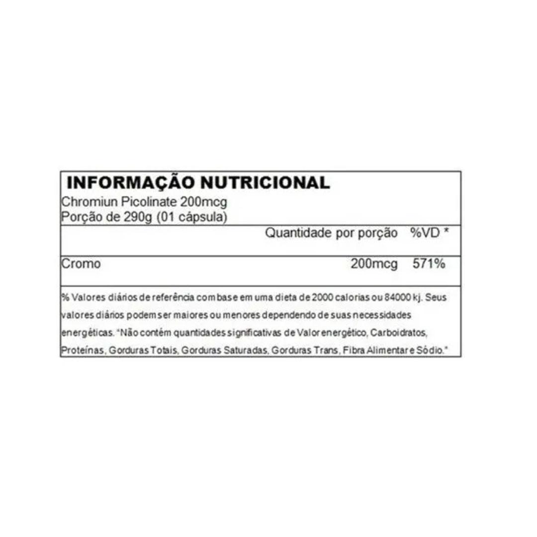 Picolinato de Cromo 200 Mcg - Ultimate Nutrition  - KFit Nutrition