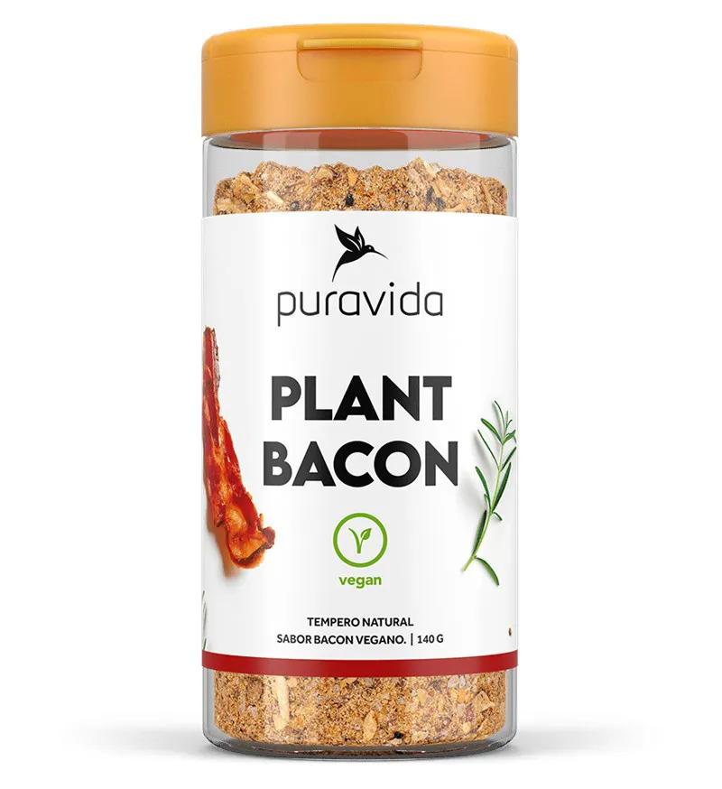 Plant Bacon Tempero Vegano 140g  Puravida  - KFit Nutrition