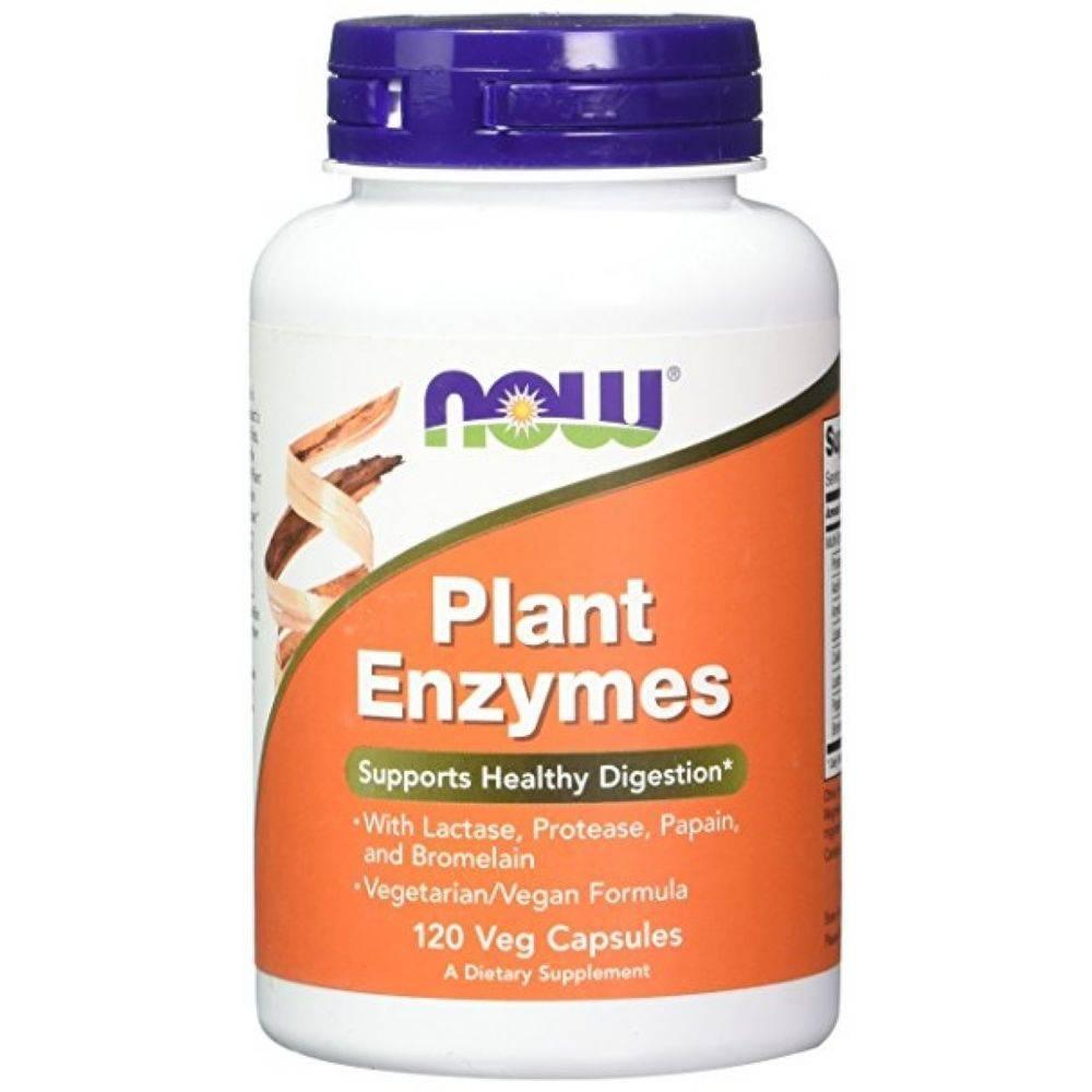 Plant Enzymes 120 Caps Now  - KFit Nutrition