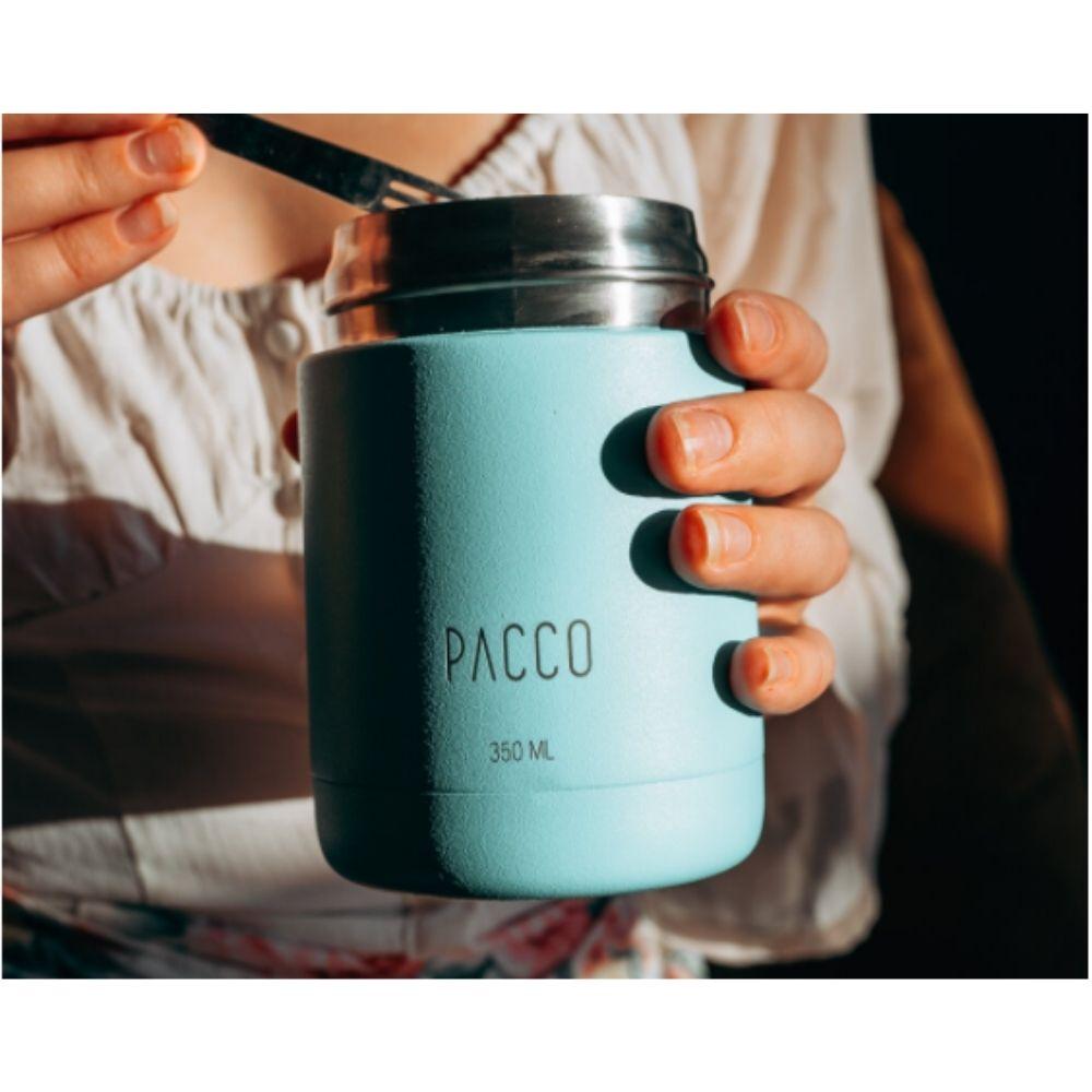 Pote Termico Turquesa Food Jar 530ml - Pacco  - KFit Nutrition