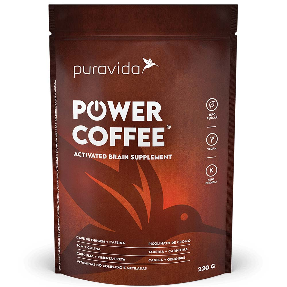 Power Coffee 220g Puravida  - KFit Nutrition
