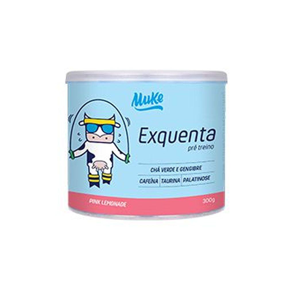 Pré Treino Exquenta Muke 300g Pink Lemonade - Mais Mu  - KFit Nutrition