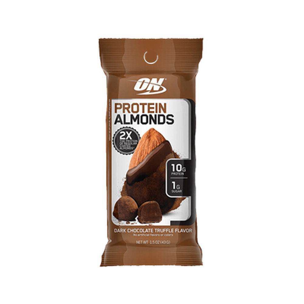 Protein Almonds Dark Chocolate 43G Optimun Nutrition  - KFit Nutrition