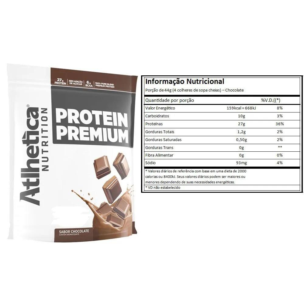 Protein Premium Chocolate 1,8Kg e Creatina 100g  - KFit Nutrition