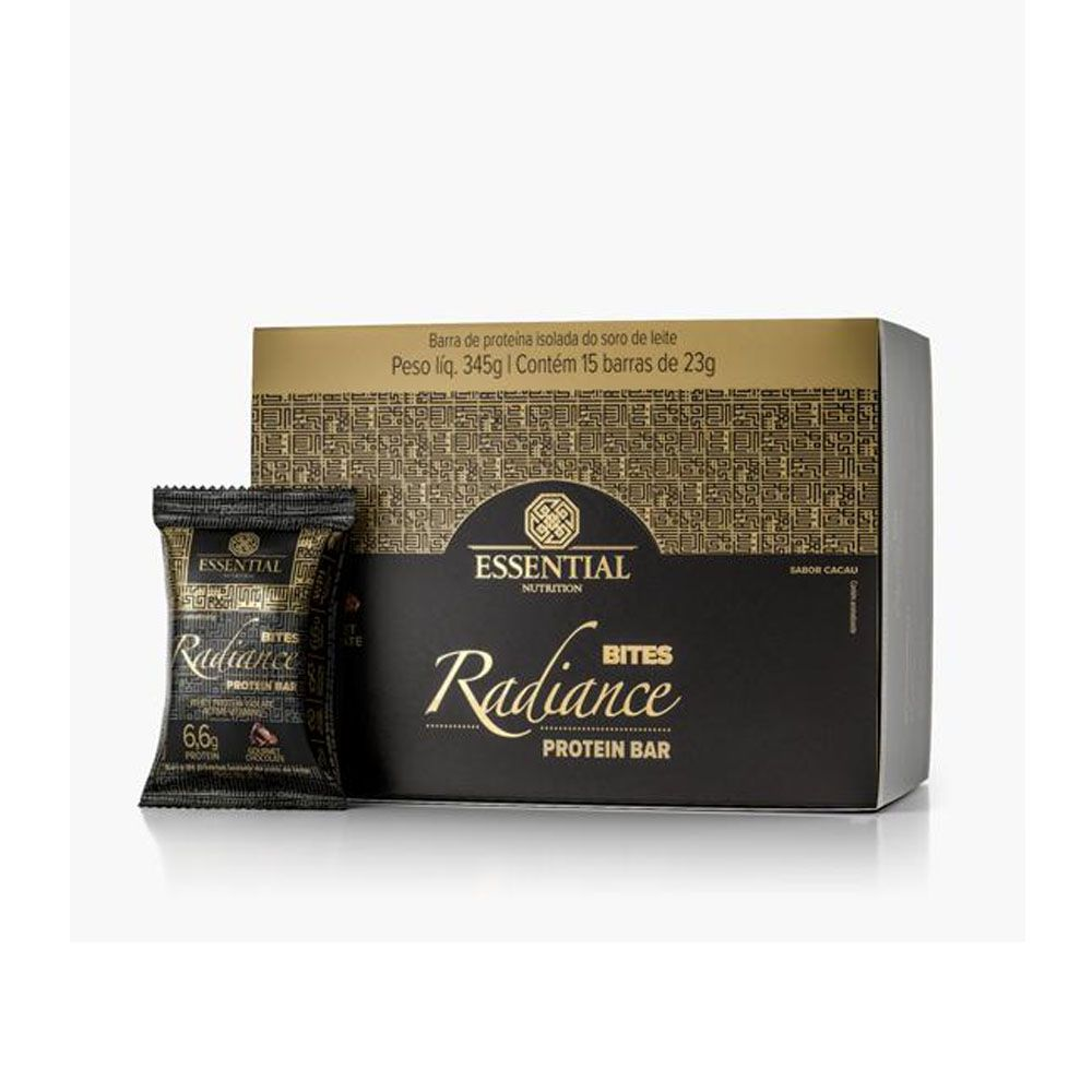 Radiance Whey Bites Chocolate - Cx 15 Un- Essential  - KFit Nutrition