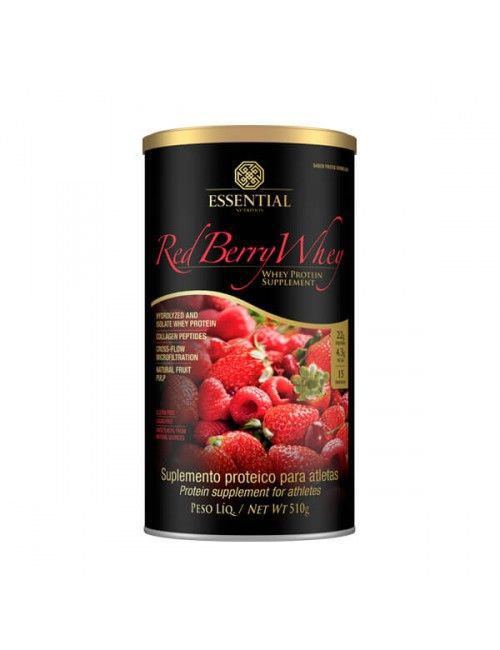 Red Berry Whey 510G - Essential Nutrition  - KFit Nutrition