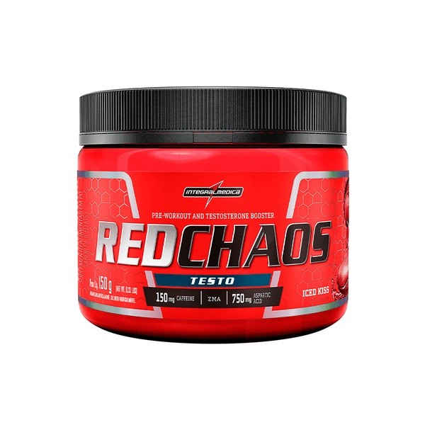 Redchaos Testo Iced Kiss 150g - Integral Medica  - KFit Nutrition