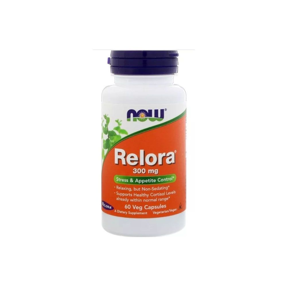 Relora 300mg 60caps - Now Sports  - KFit Nutrition