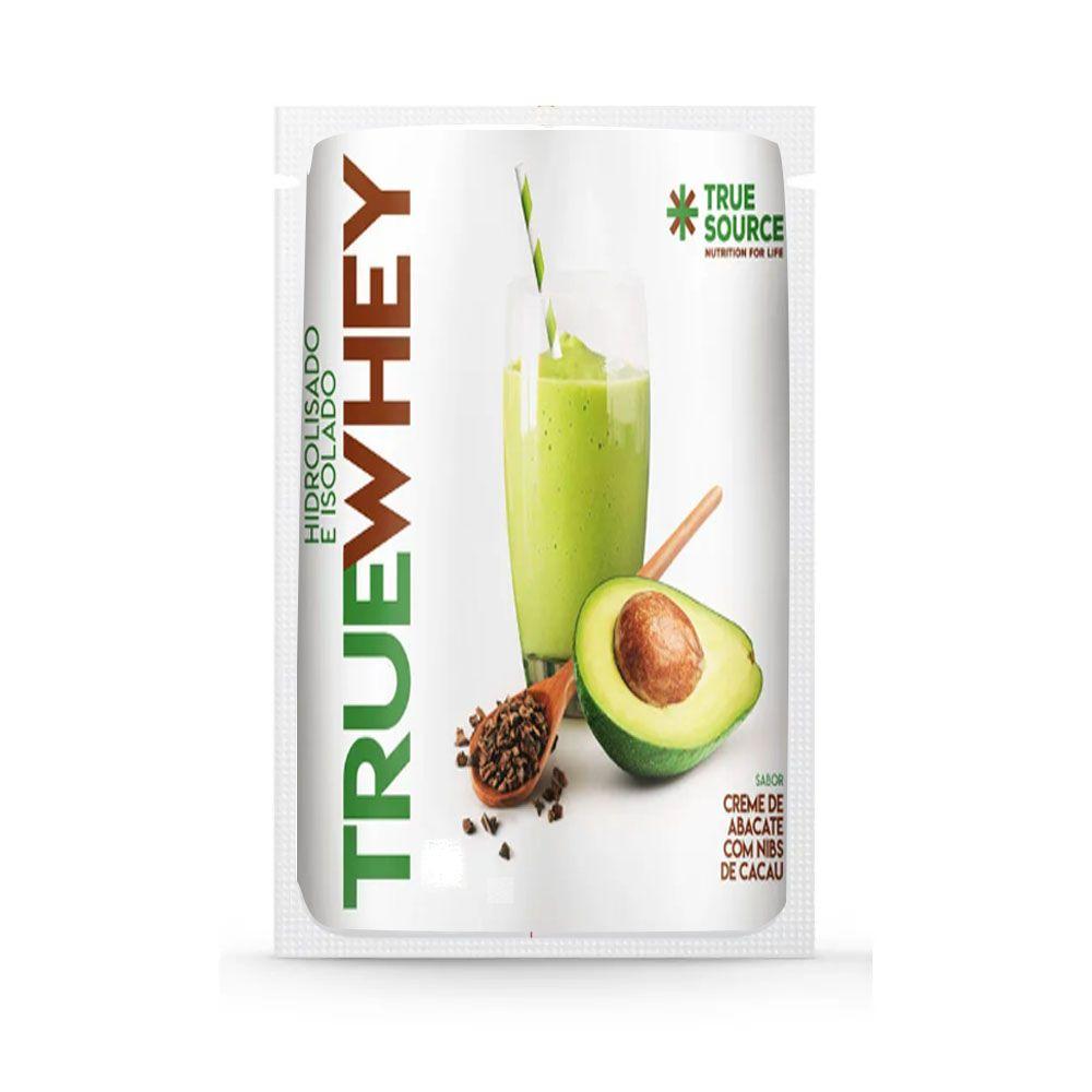 Sachê True Whey Creme Abacate Com Nibs De Cacau 32g  - KFit Nutrition