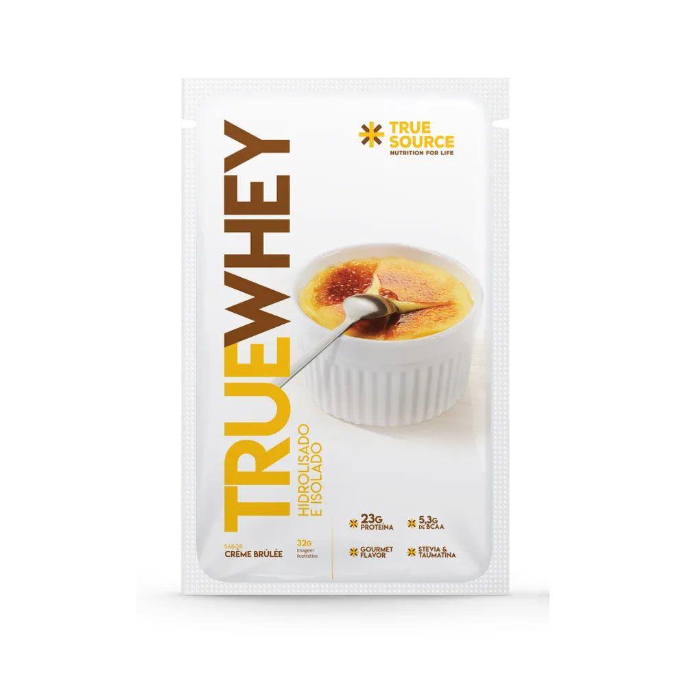 Sachê True Whey Vanilla Creme Brulle 32g  - KFit Nutrition