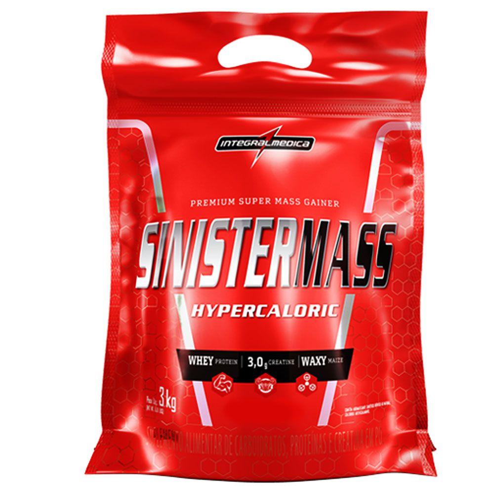 Sinister Mass 3kg Morango - Integral Medica  - KFit Nutrition