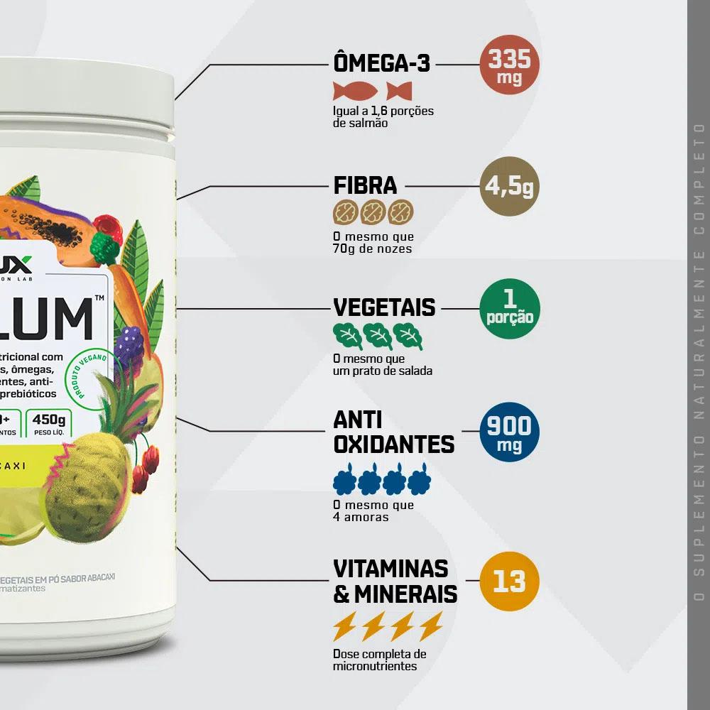 Solum Abacaxi 450g - Dux  - KFit Nutrition