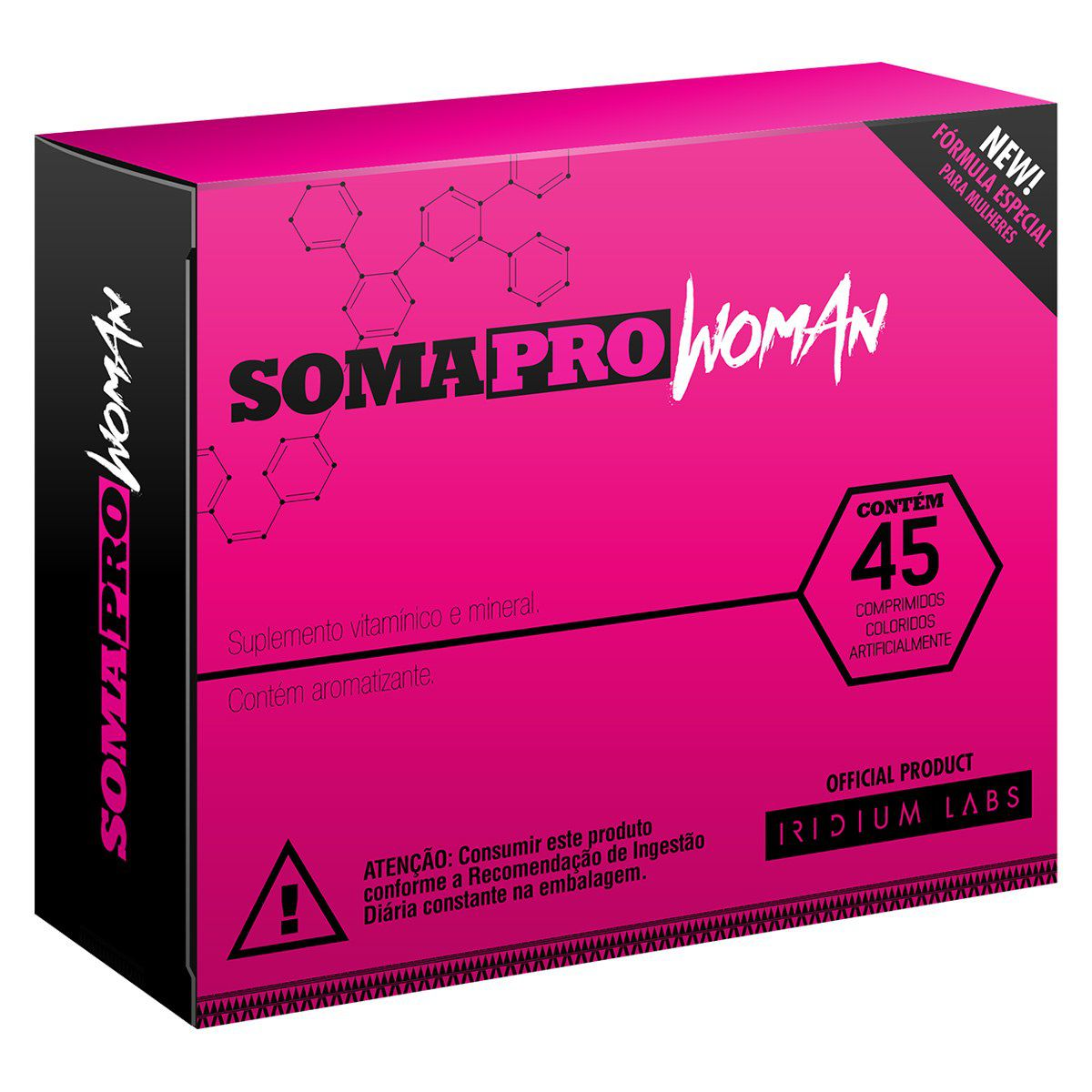 Soma Pro Woman 45 CAPS Iridium Labs  - KFit Nutrition