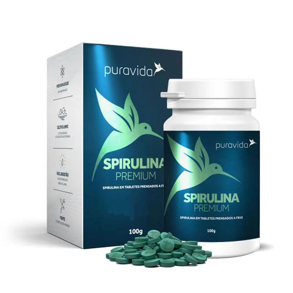 Spirulina Premium 600 Tab -  Puravida  - KFit Nutrition