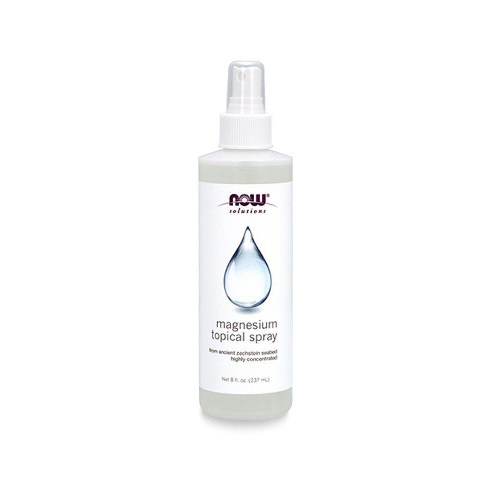 Spray de Magnésio Frasco 237ml NOW  - KFit Nutrition