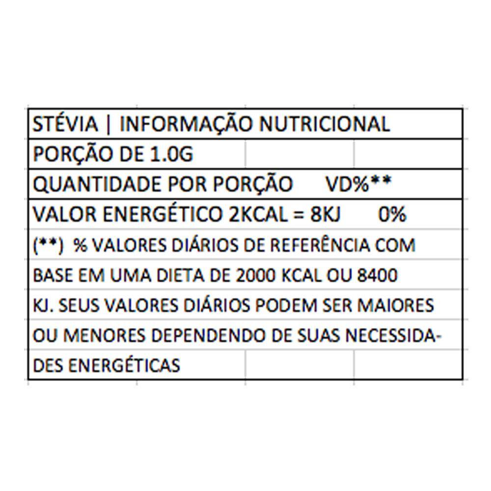 Stevia Natural 20g Color Andina  - KFit Nutrition