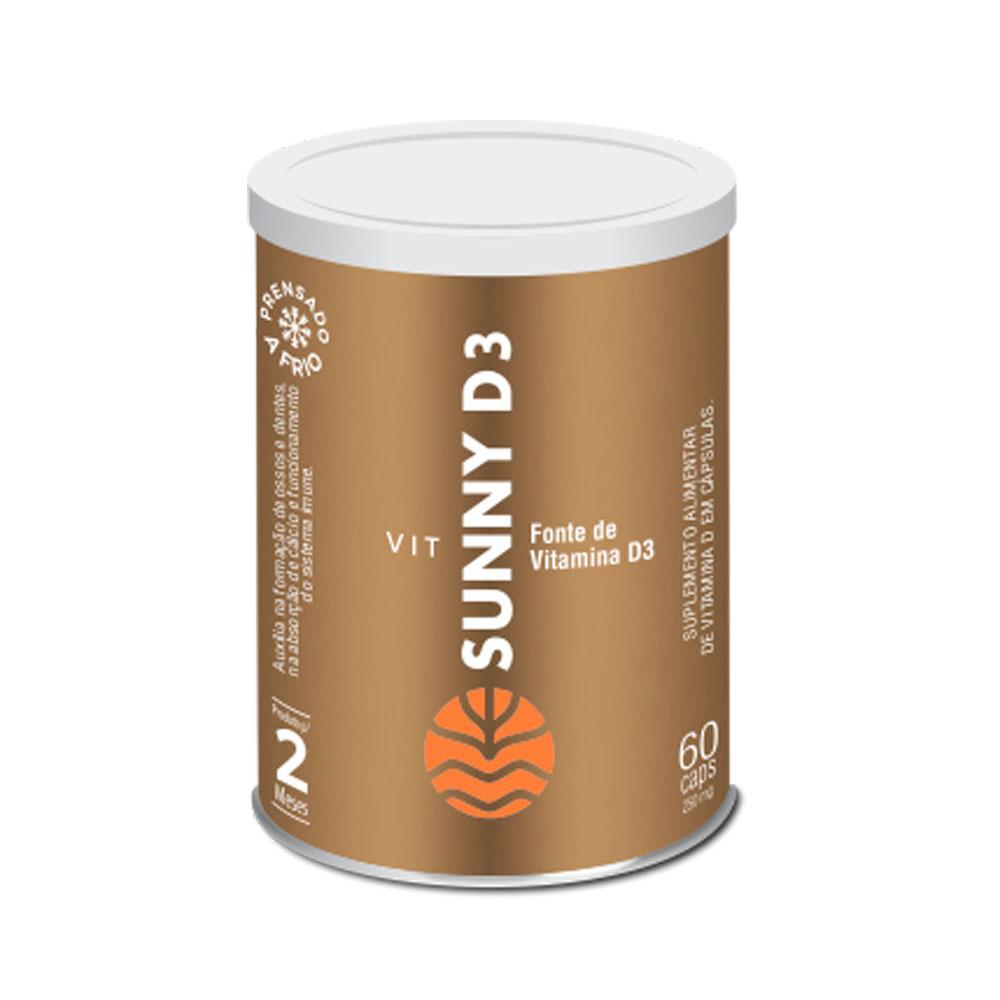 Sunny D3 2000UI 60 Caps - Vital Âtman  - KFit Nutrition