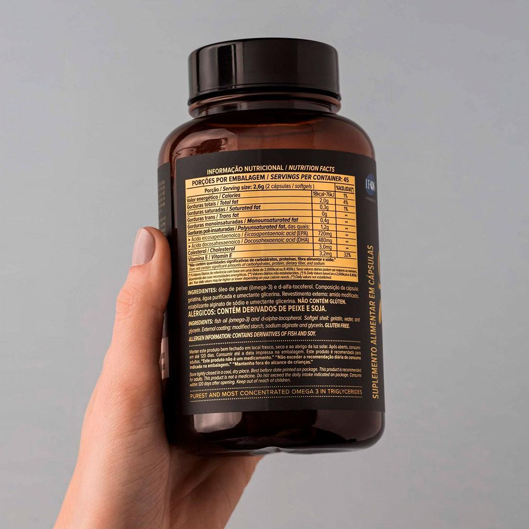 Super Omega 3 Gastro-resistant 90 Caps - Essential  - KFit Nutrition