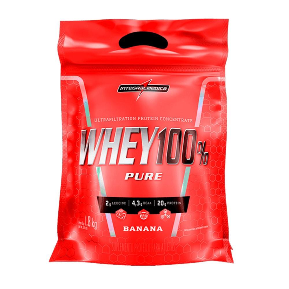 Super Whey 100% Banana 1,8Kg Integral Medica  - KFit Nutrition