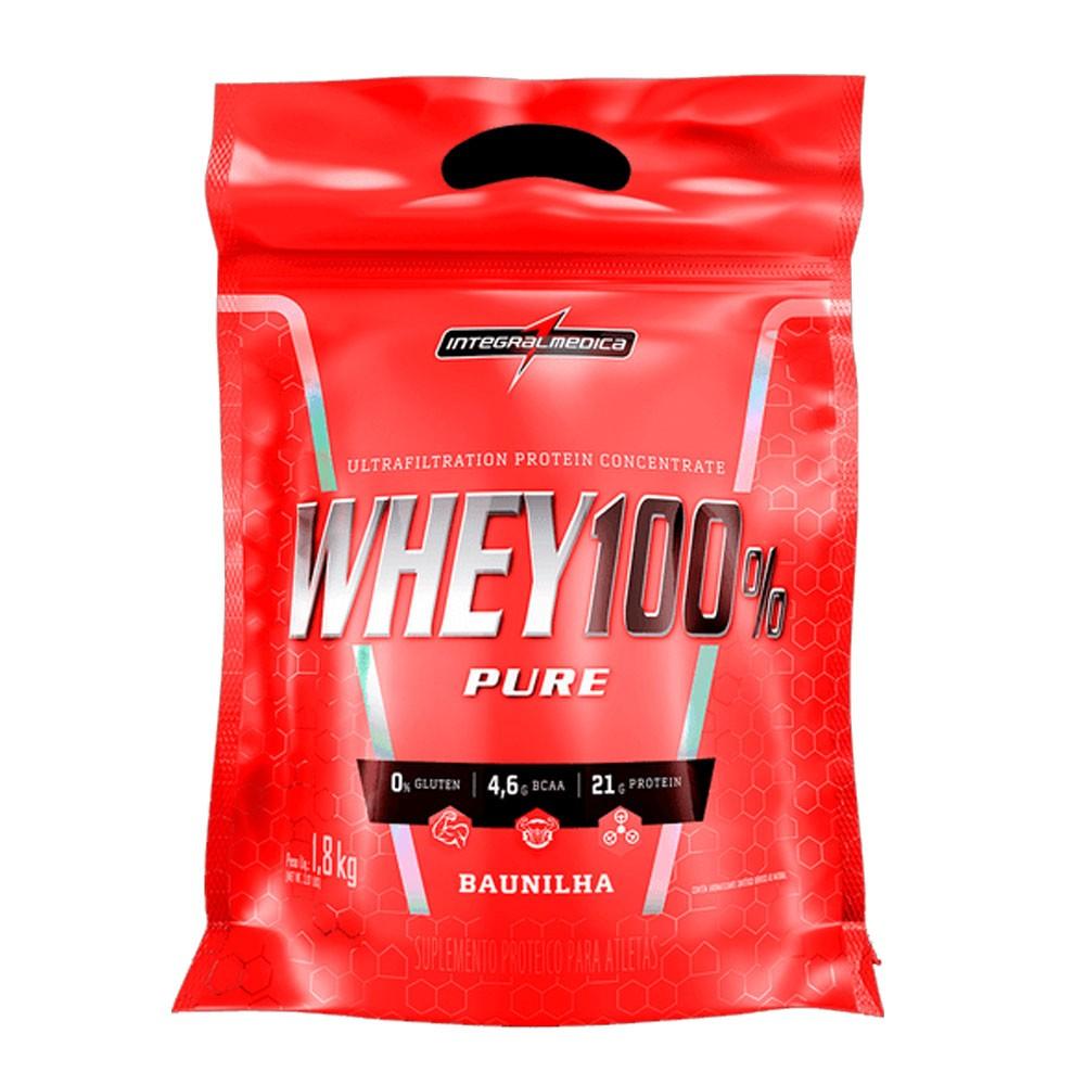 Super Whey 100% Baunilha 1,8Kg Integral Medica  - KFit Nutrition