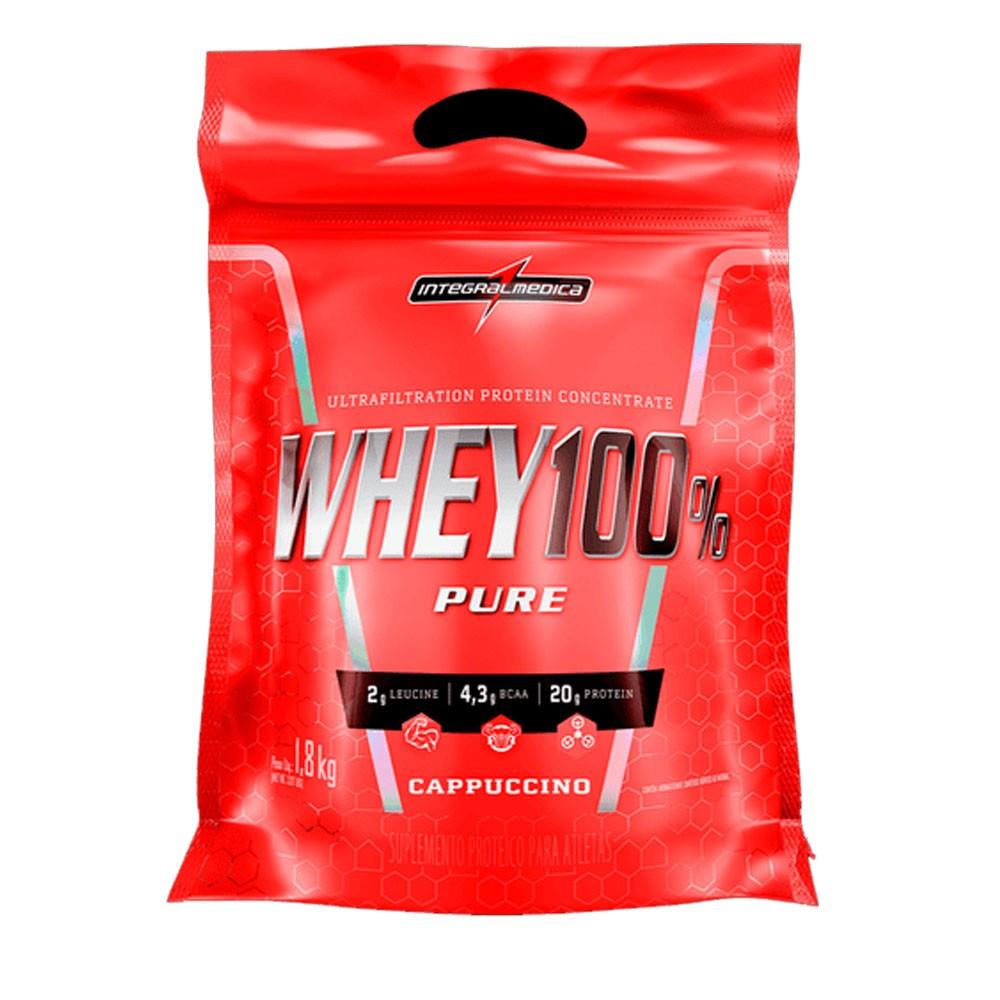 Super Whey 100% cappuccino 1,8Kg Integral Medica  - KFit Nutrition