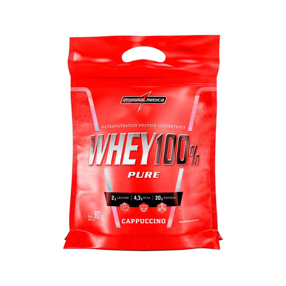 Super Whey 100%  Cappuccino 907g - Integral Medica  - KFit Nutrition