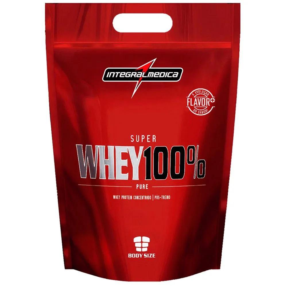 Super Whey 100% Integral Medica 900g  Banana  - KFit Nutrition