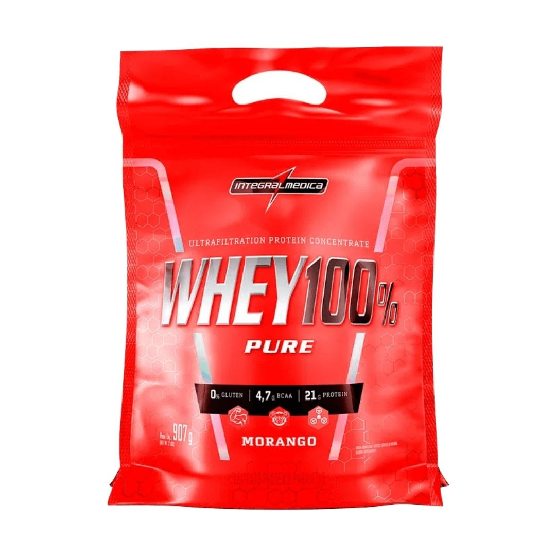 Super Whey 100% Integral Medica 907 g  - KFit Nutrition