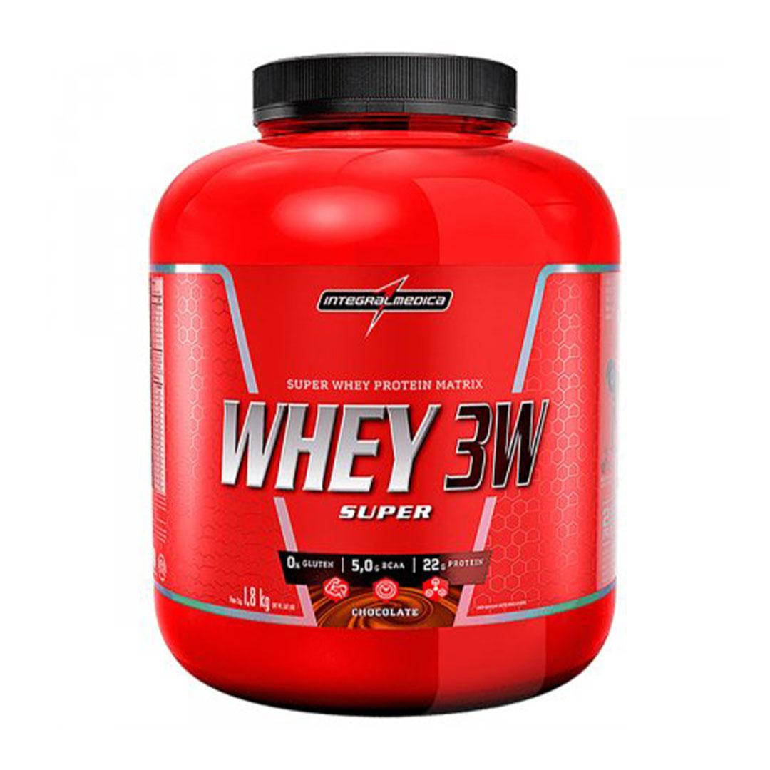 Super Whey 3w Integral Medica 1.8 Kg Chocolate  - KFit Nutrition