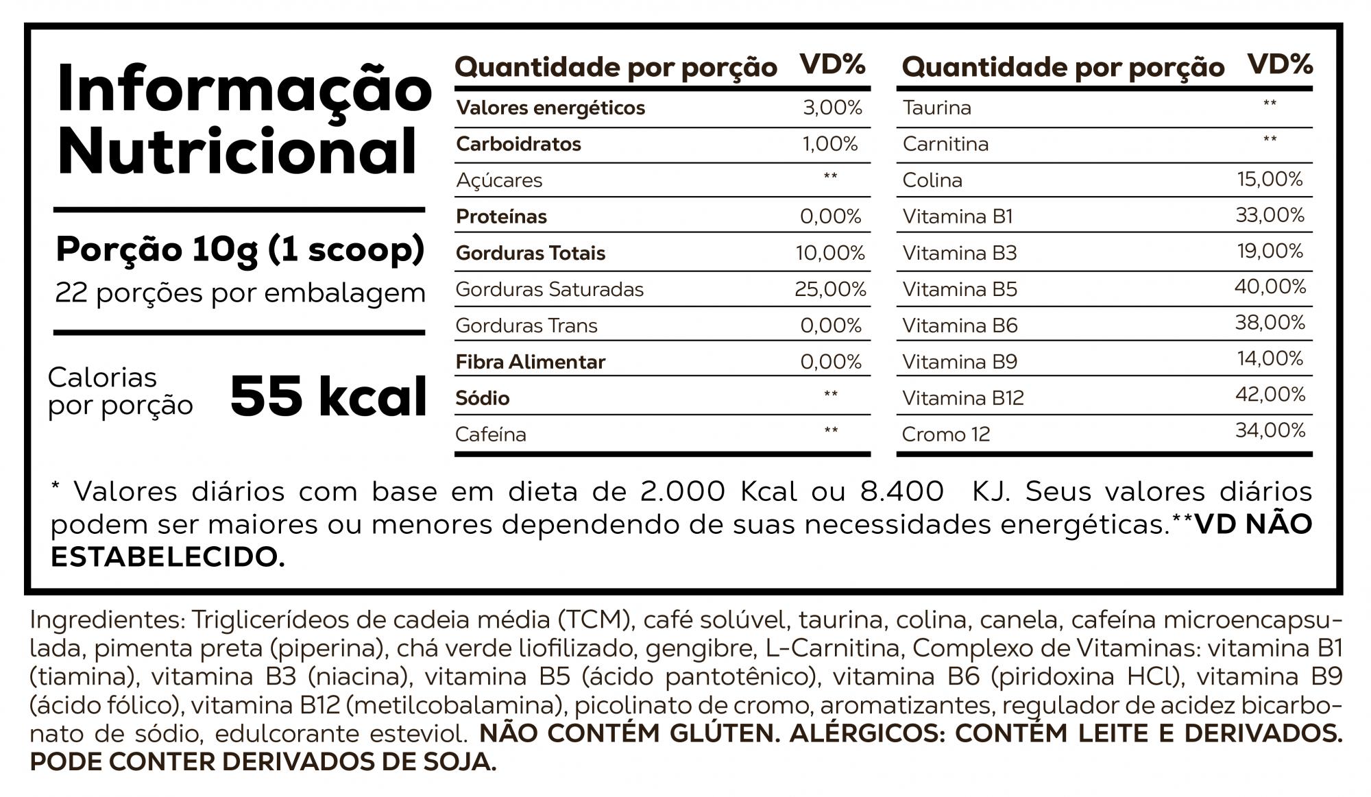 Supercoffee 2.0 220G - Nova Fórmula Caffeinearmy  - KFit Nutrition