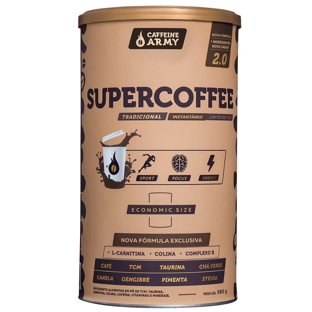 Supercoffee 2.0 Economic Size 380g Caffeinearmy  - KFit Nutrition