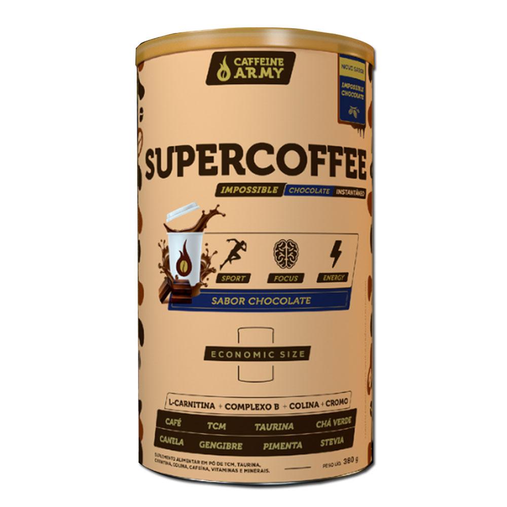 Supercoffee Chocolate Economic Size 380g - Latão Caffeinearmy  - KFit Nutrition