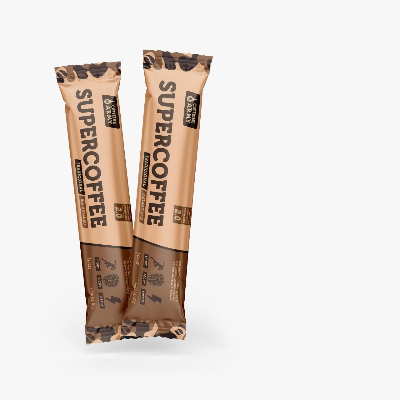 Supercoffee To Go 14 Sachês 10g   - KFit Nutrition