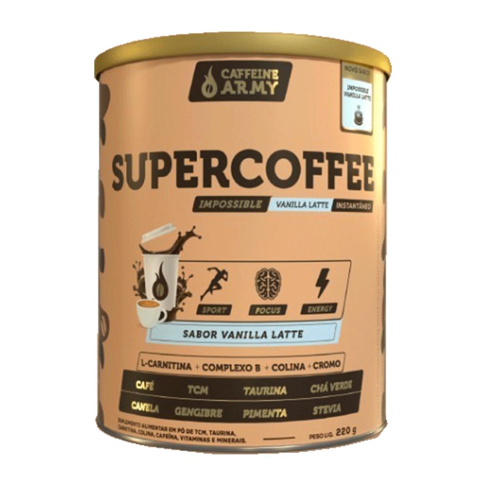 Supercoffee Vanilla Latte 220g - Caffeinearmy  - KFit Nutrition