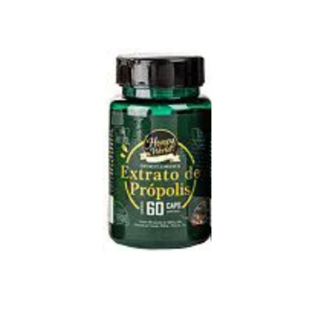 Suplemento Alimentar de Extrato de Própolis 60 cps Honey World  - KFit Nutrition
