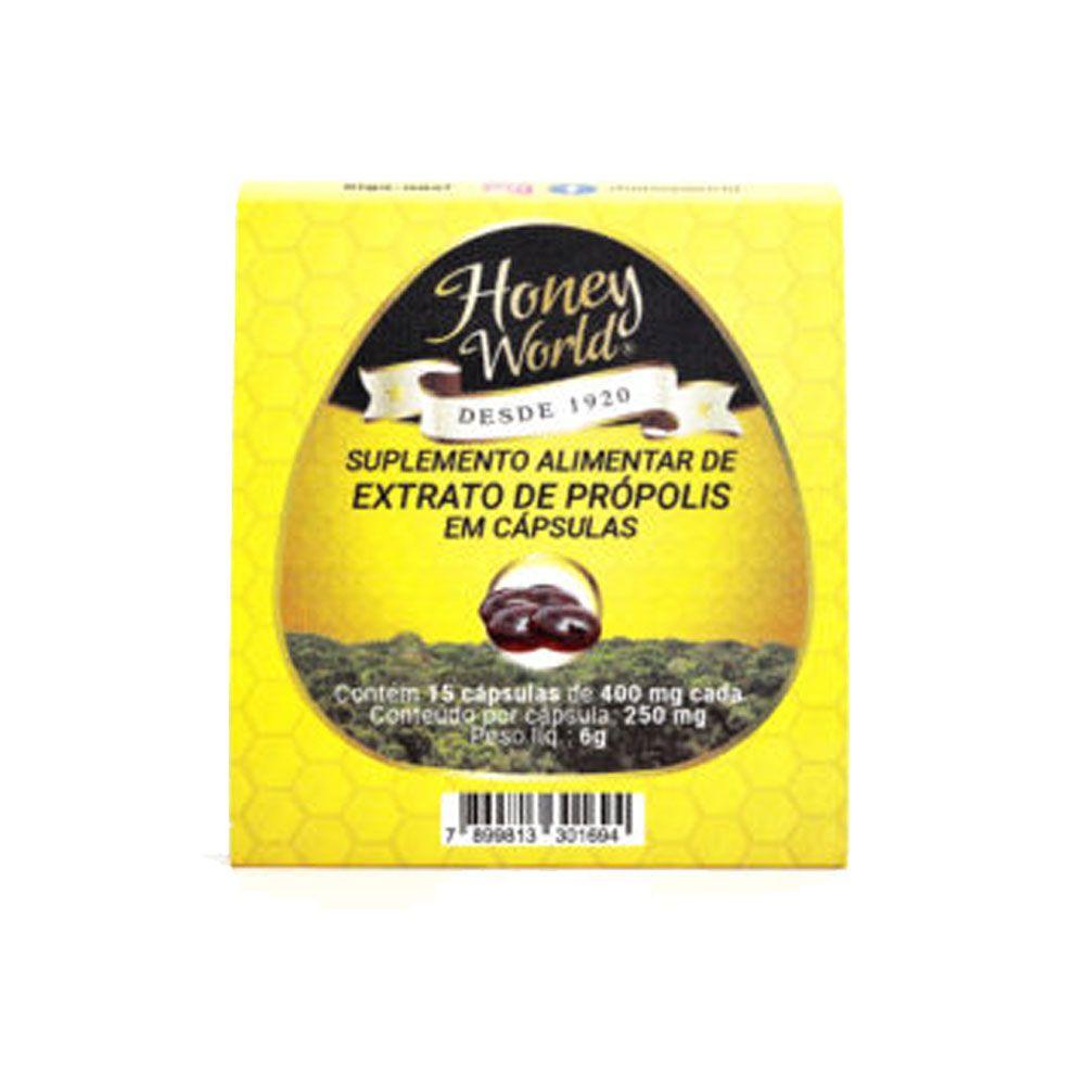Suplemento Alimentar de Extrato de Própolis em cápsulas Gelatinosa Blister 15 caps  - KFit Nutrition
