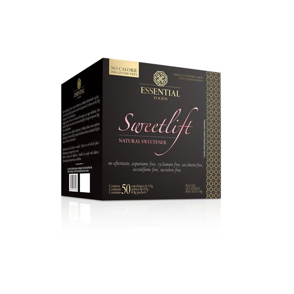 Sweetlift 40G 50 Sachês de 0,8G Essential Nutrition  - KFit Nutrition