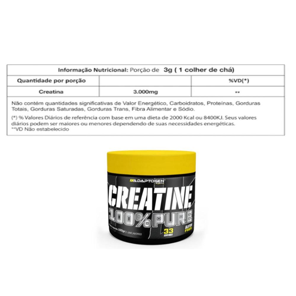 Tasty Iso 900g Coconut + Creatina 100g Adaptogen  - KFit Nutrition