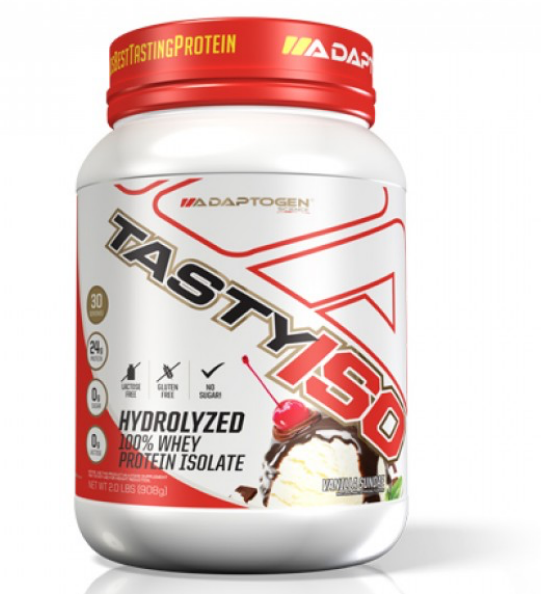 Tasty Iso Vanilla 2 LBS - Adaptogen  - KFit Nutrition