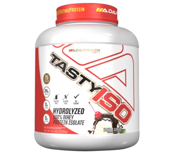Tasty Iso Vanilla 5 LBS - Adaptogen  - KFit Nutrition
