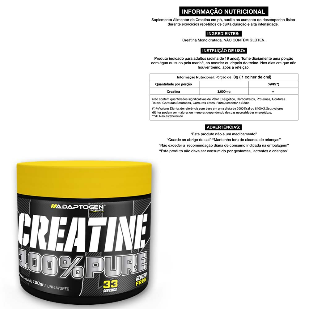 Tasty Leite Cond 900g + Bcaa 90 Caps + Creatina 100g  - KFit Nutrition
