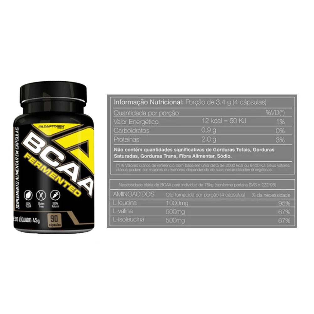 Tasty Whey 2 LBS Cookies + Bcaa 90 Caps - Adaptogen  - KFit Nutrition