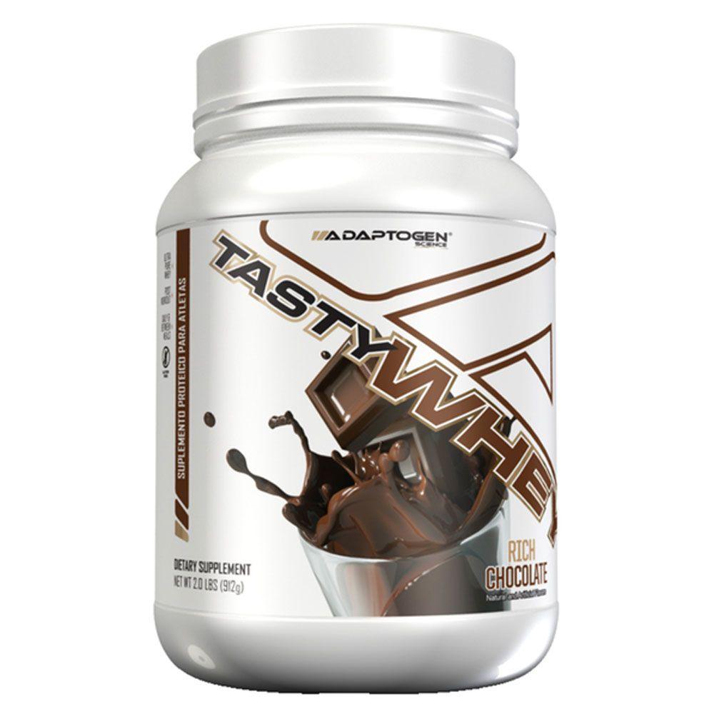 Tasty Whey Chocolate 2 LBS - Adaptogen  - KFit Nutrition