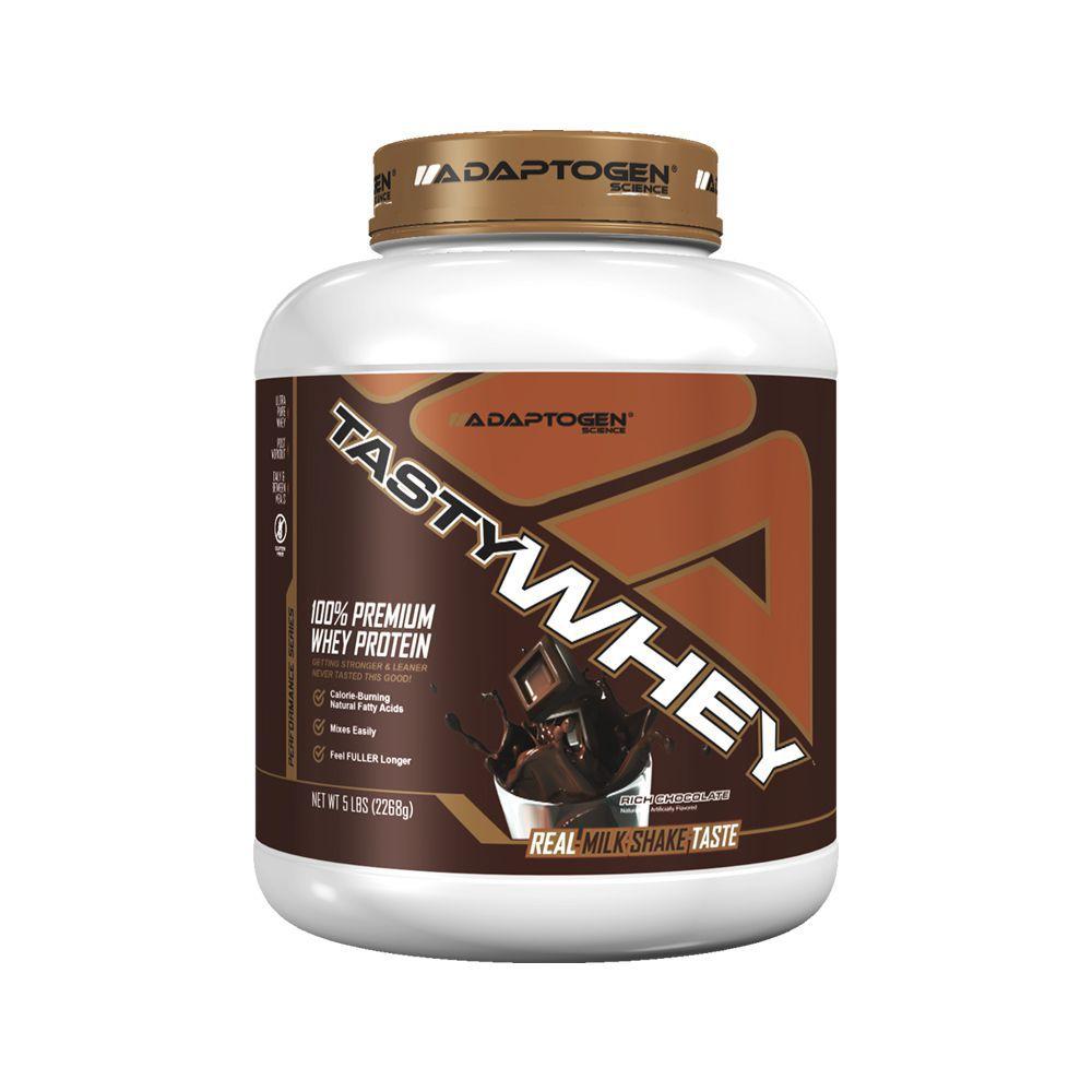 Tasty Whey Chocolate 5 LBS - Adaptogen  - KFit Nutrition