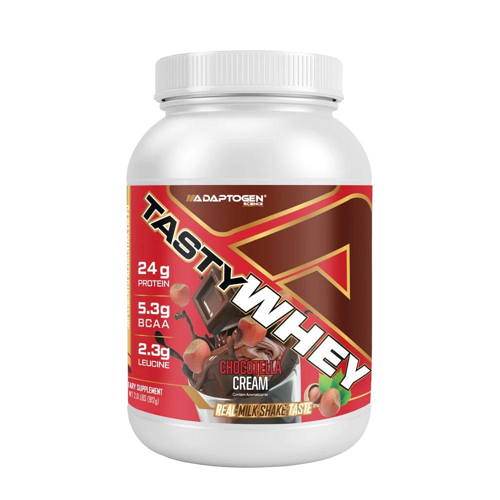 Tasty Whey Chocotella Cream 2 LBS - Adaptogen  - KFit Nutrition